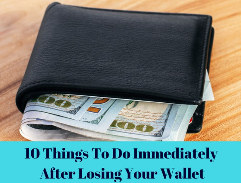 Things to Do After Losing Your Wallet