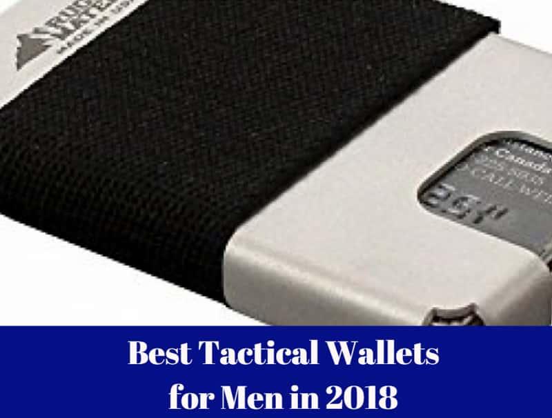 Best Tactical Wallets For Men In 2019