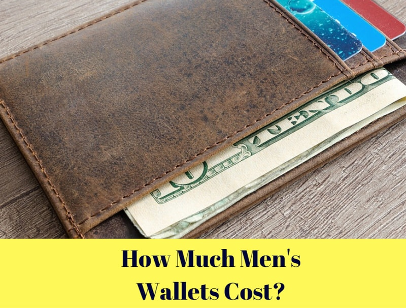 How much men's wallets cost