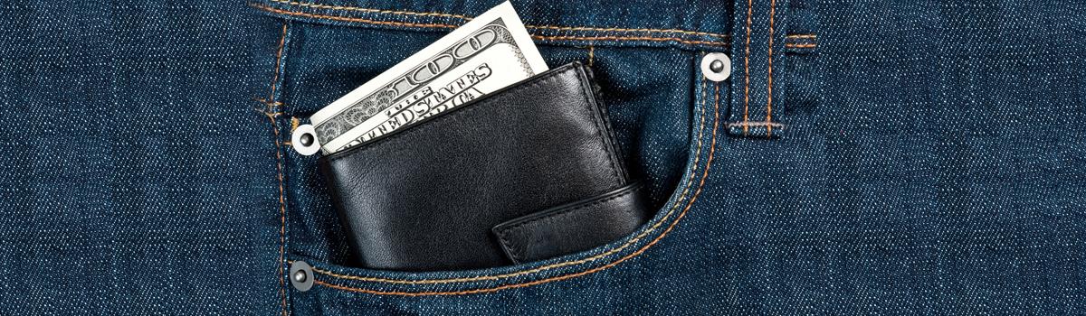 X1 Men/'s Slim Front Pocket ID Bifold Wallet Genuine Leather Credit Card Holder